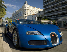 Суперкар Bugatti Veyron 16.4 Grand Sport