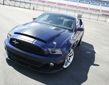 Новая версия автомобиля Ford Mustang