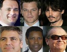 Самые кассовые актеры Голливуда