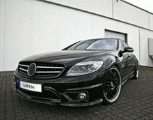 Чёрный CL65 от AMG