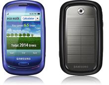 Экологичный телефон «Blue Earth»