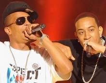 Пожертвования от Ludacris и T.I.