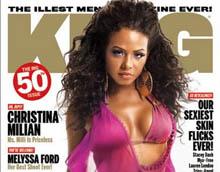 Скрытная и сексуальная Christina Milian