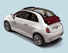 Кабриолет Fiat 500C