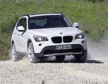 Первые фото BMW X1